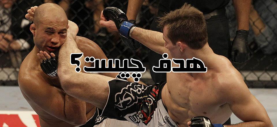 کلیپی کوتاه از تمرینات MMA و ناک اوت های آن